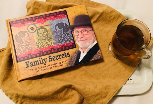 Family Secrets Storytelling Art Book