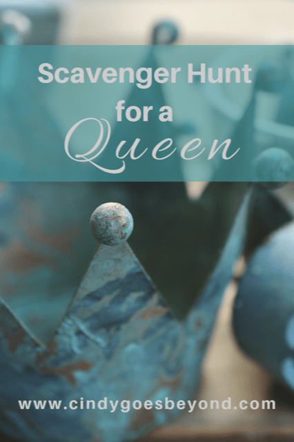 Scavenger Hunt for a Queen