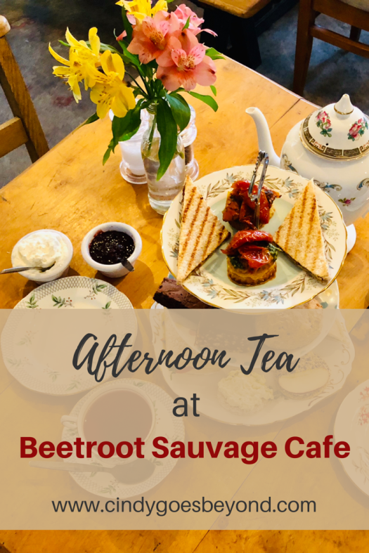 Beetroot Sauvage Cafe