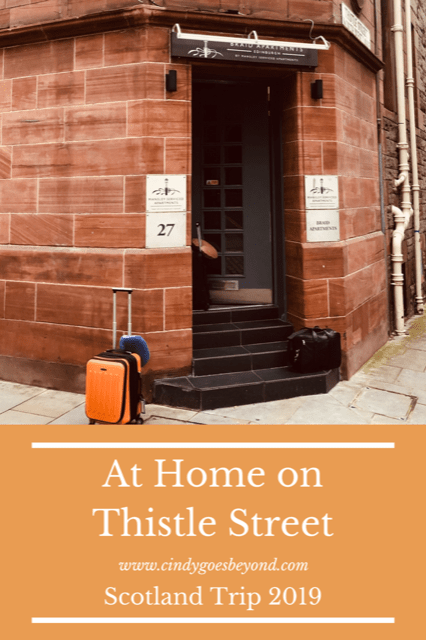 At Home on Thistle Street Title Meme