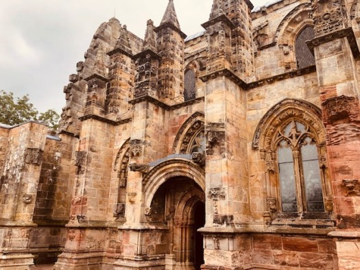 Rosslyn Chapel Doorway