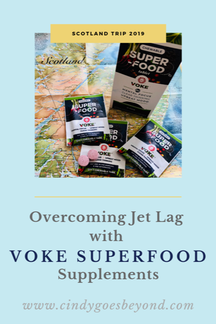 Overcome Jet Lag with Voke Superfood Supplements title meme