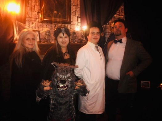 Halloween Party Hosts