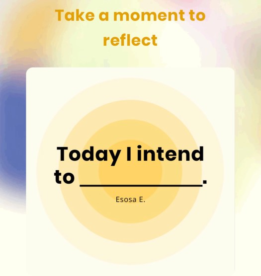 The App That Helps Your Life Shine intention