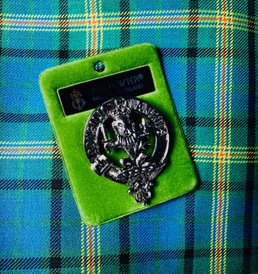 Clan Maitland Tartan and Badge