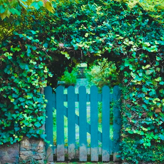 Create a Meditation Area in Your Garden gate