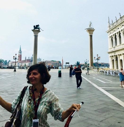 Lions of Venice pillars
