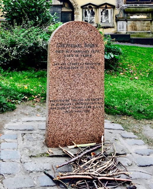 Greyfriars Bobby World Most Loyal Dog grave