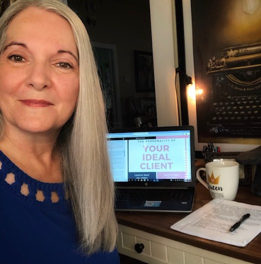 Next Level Blogging with LadyBossBlogger computer