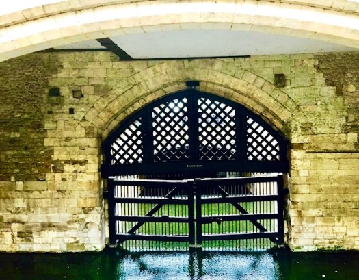 Daring Escapes from the Tower of London gate