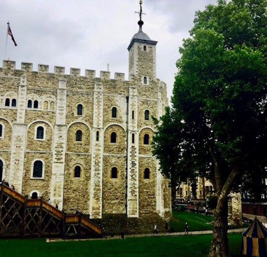 Daring Escapes from the Tower of London white tower