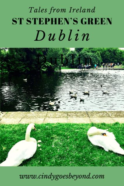 St Stephen's Green Dublin title meme