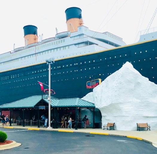 Titanic Museum Branson Missouri entrance