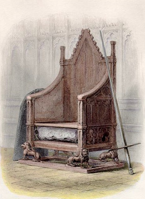 The Infamous Theft of the Stone of Destiny coronation chair