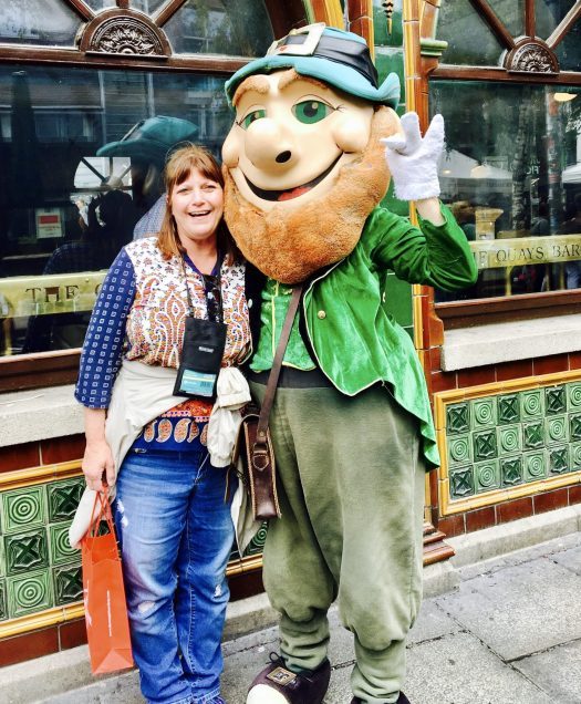 Explore Dublin's Temple Bar Area leprechaun