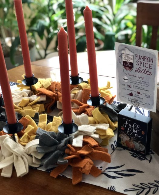 Fall Back in Love with Your Home with Decocrated candle ring