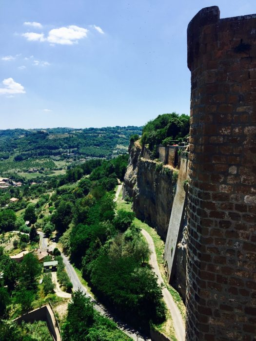 Fun Facts about Orvieto Italy cliff top