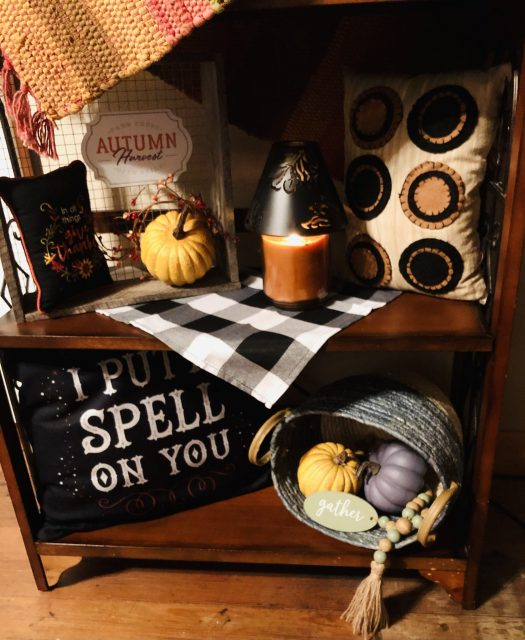 Decorating for Halloween with Decocrated spell