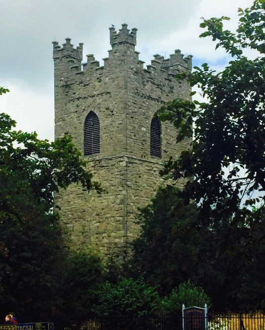 Ghost Stories from Dublin St Audoens tower