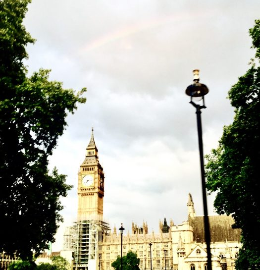 Fun Facts About Big Ben rainbow