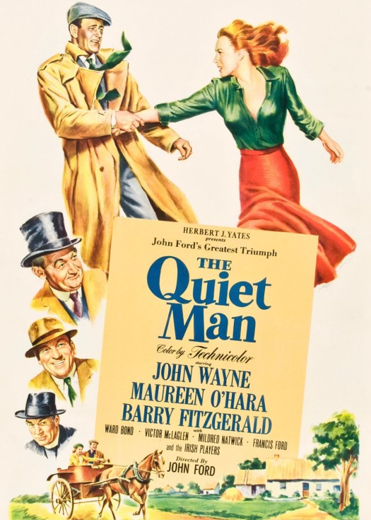 Movies That Inspire You to Visit Ireland the quiet man