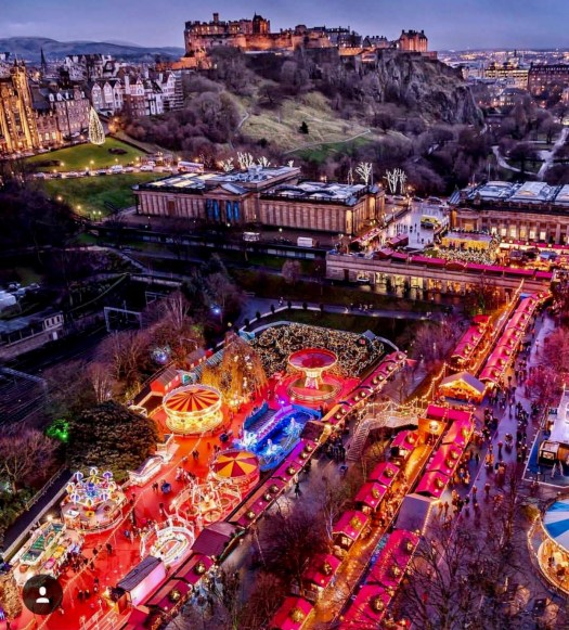 Stories to Tell Edinburgh Christmas Market