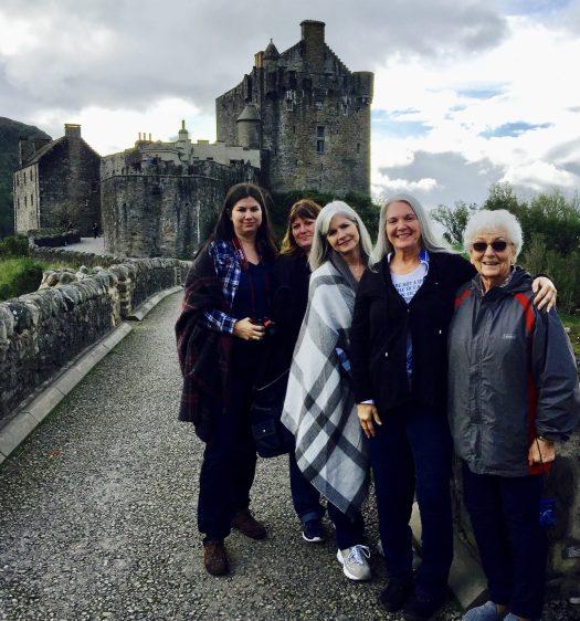 Fun Scottish Expressions Eilean Donan Castle