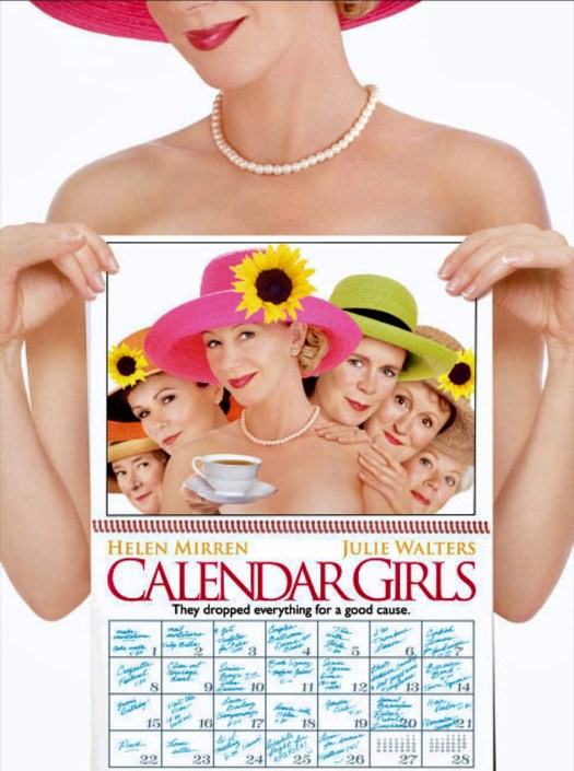 Movies That Inspire You to Visit England calendar girls