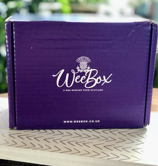 WeeBox Subscription Box from Scotland box