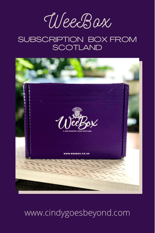 WeeBox Subscription Box from Scotland title meme