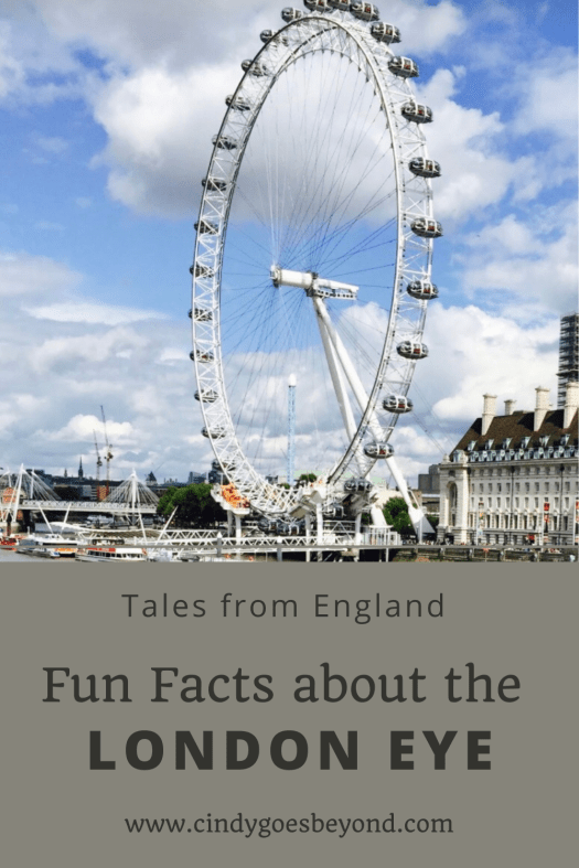 Fun Facts about the London Eye title meme