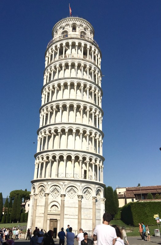 Fun Facts About the Leaning Tower of Pisa marshy ground