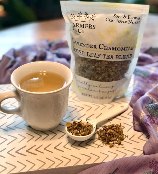 Farmers Lavender Co tea