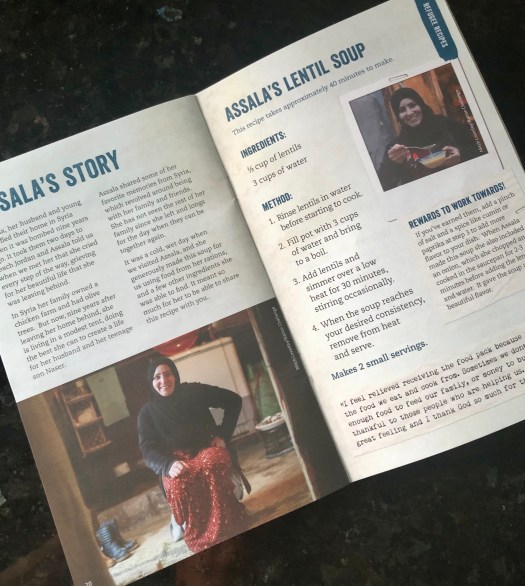 World Refugee Day - recipe booklet with refugee stories
