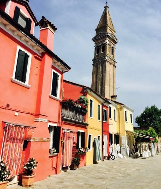 Burano's colorful houses