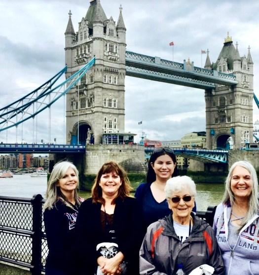 Ten Curiosities About London's Tower Bridge group shot