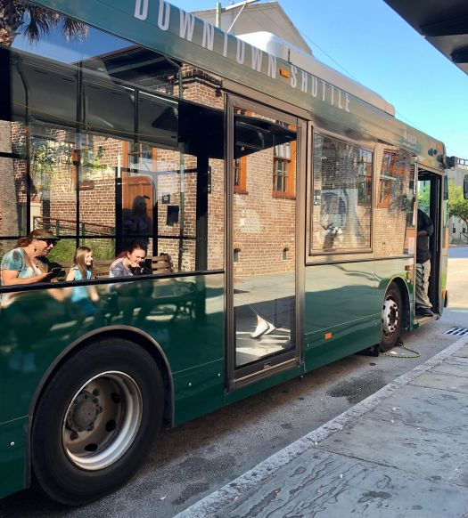 Fun Things to Do in Charleston trolley