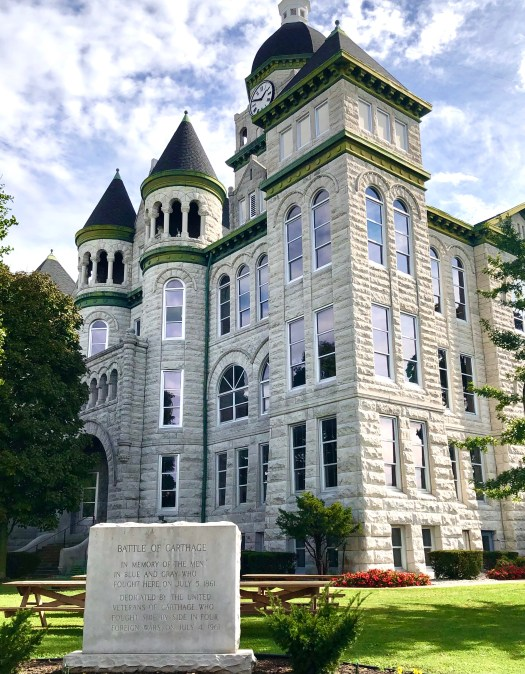 Ghost Stories from Carthage courthouse