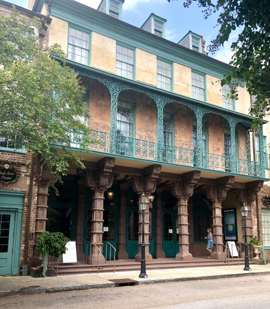 Ghost Stories from Charleston dock street theatre