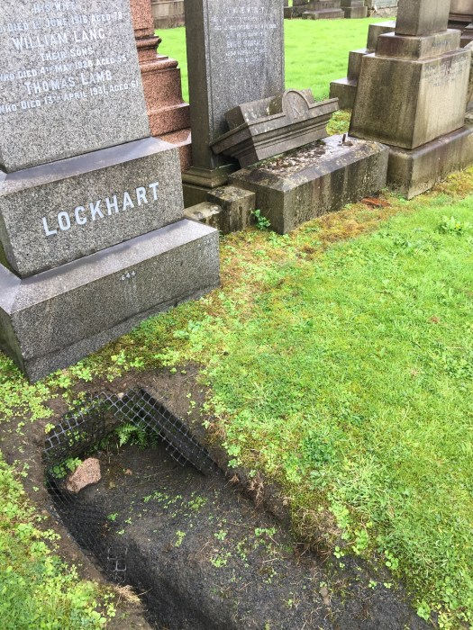 Necropolis grave