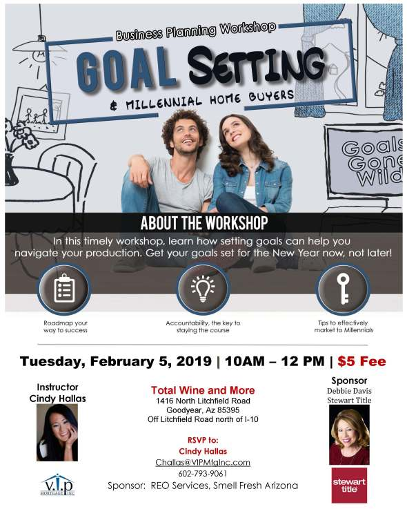 Cindy Hallas Millennial Home Buyer Workshop West Valley Realtor flyer