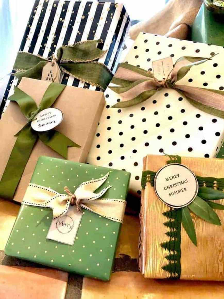 12 Creative Gift Wrap Ideas Using Simple Brown Paper Cindy