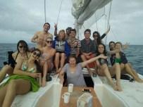Notre team bateau !