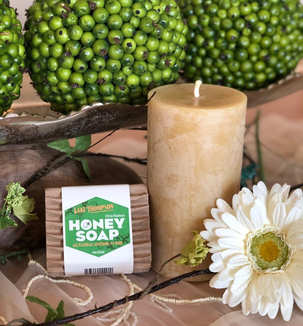 Lake Thompson Honey Soap