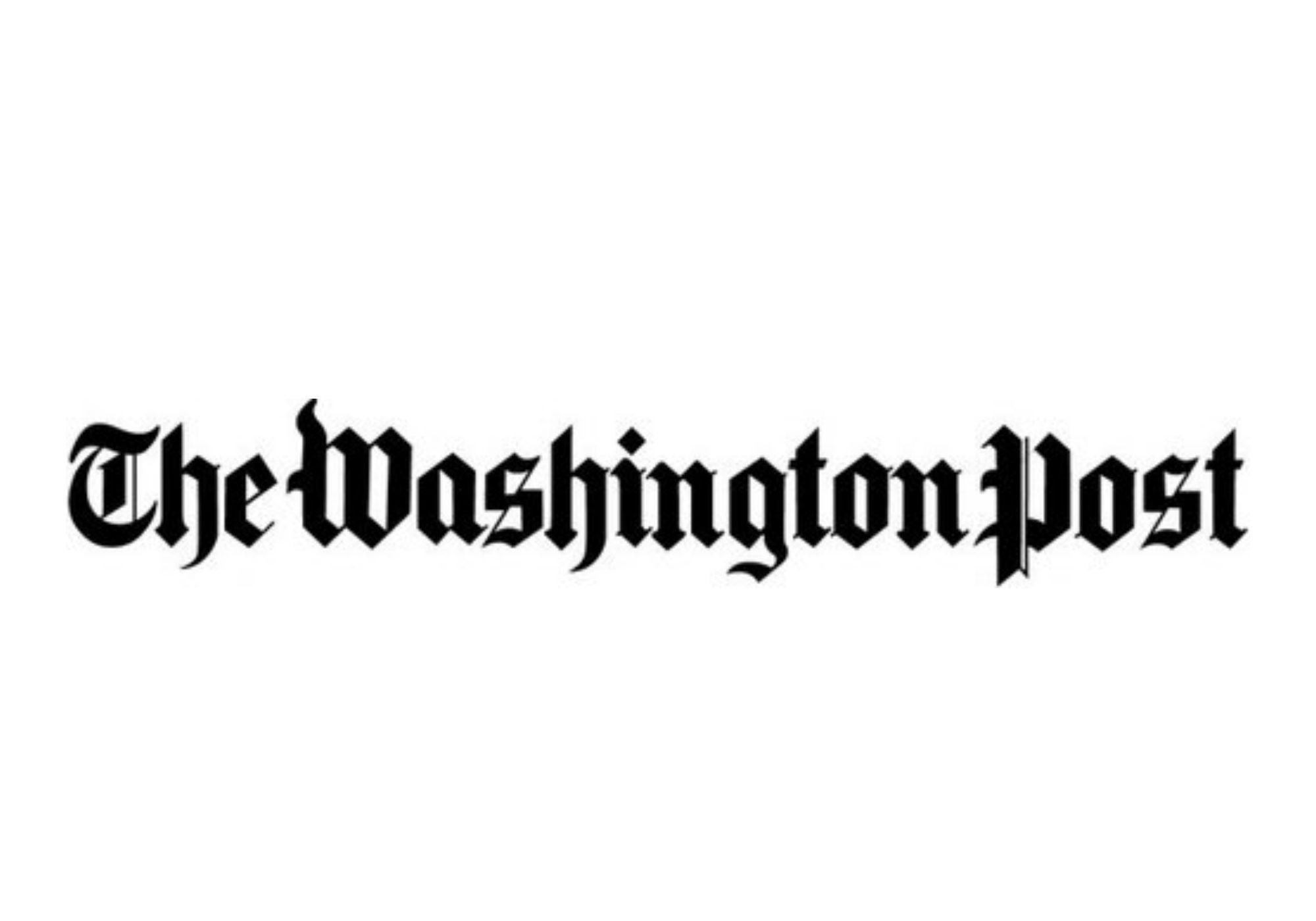 Resultado de imagem para washington post logo