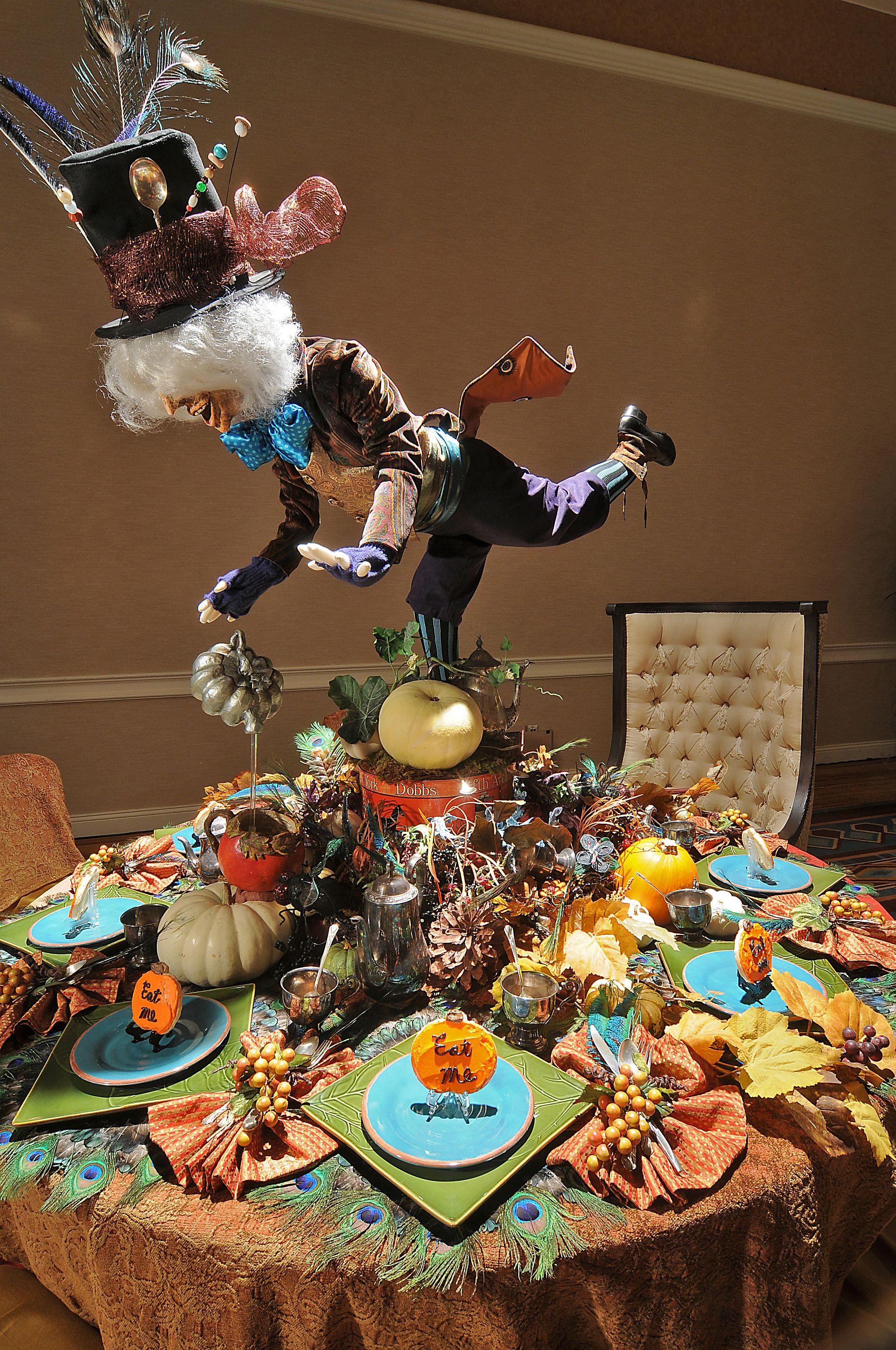 vintage peacock chair banded swivel blind autumn tea party | cindy elle