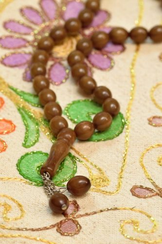 Sufi prayer beads for remembrance meditation and sufi healing