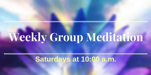Group meditation image