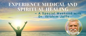 Medical and Spiritual Healing Weekend banner photo