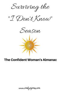 Cindy M Jones, The Confident Woman's Almanac